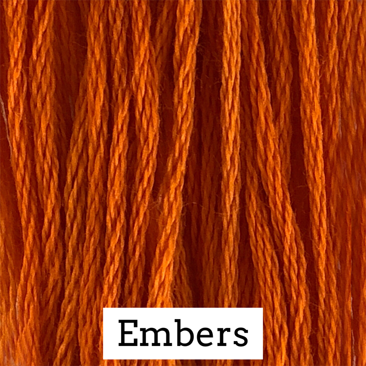 Embers Classic Colorworks 6 Strand Hand-Dyed Embroidery Floss
