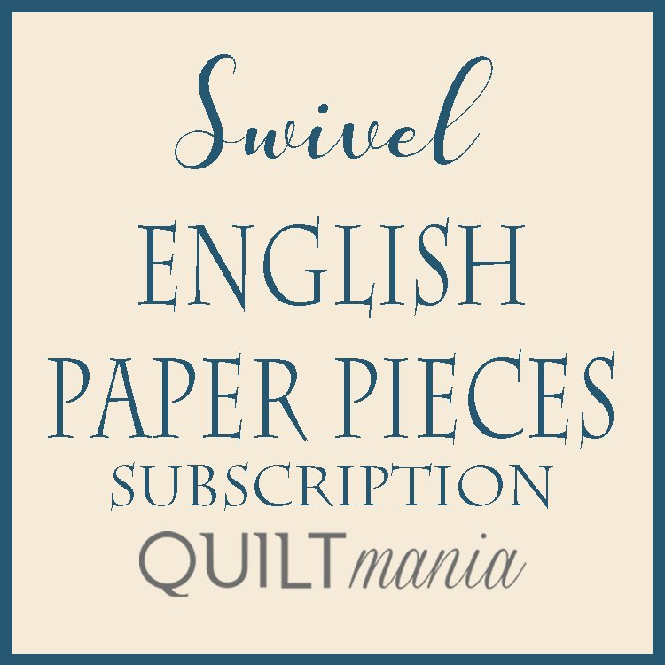 Swivel English Paper Pieces Subscription