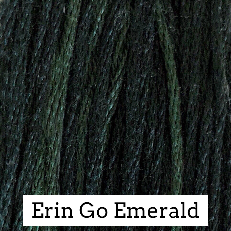 Erin Go Emerald Classic Colorworks 6 Strand Hand-Dyed Embroidery Floss