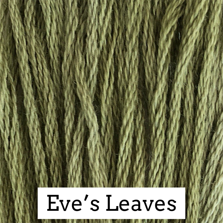 Eve's Leaves Classic Colorworks 6 Strand Hand-Dyed Embroidery Floss