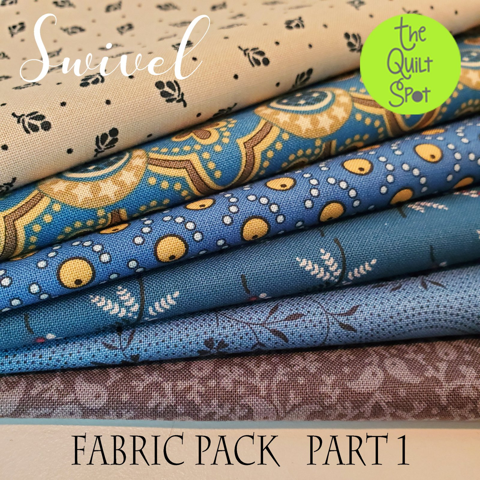Swivel - Quilt Mania Mystery Quilt Fabric Pack - Part 1