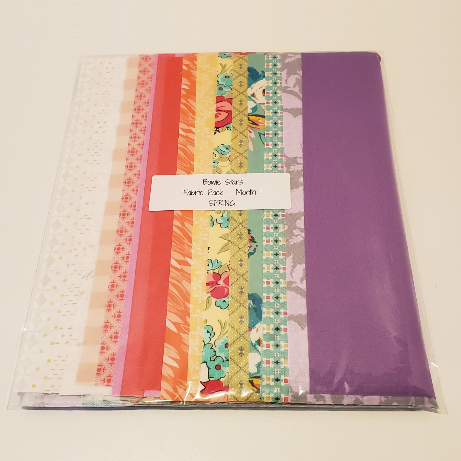 Bowie Stars Fabric Pack Month 1 - Spring