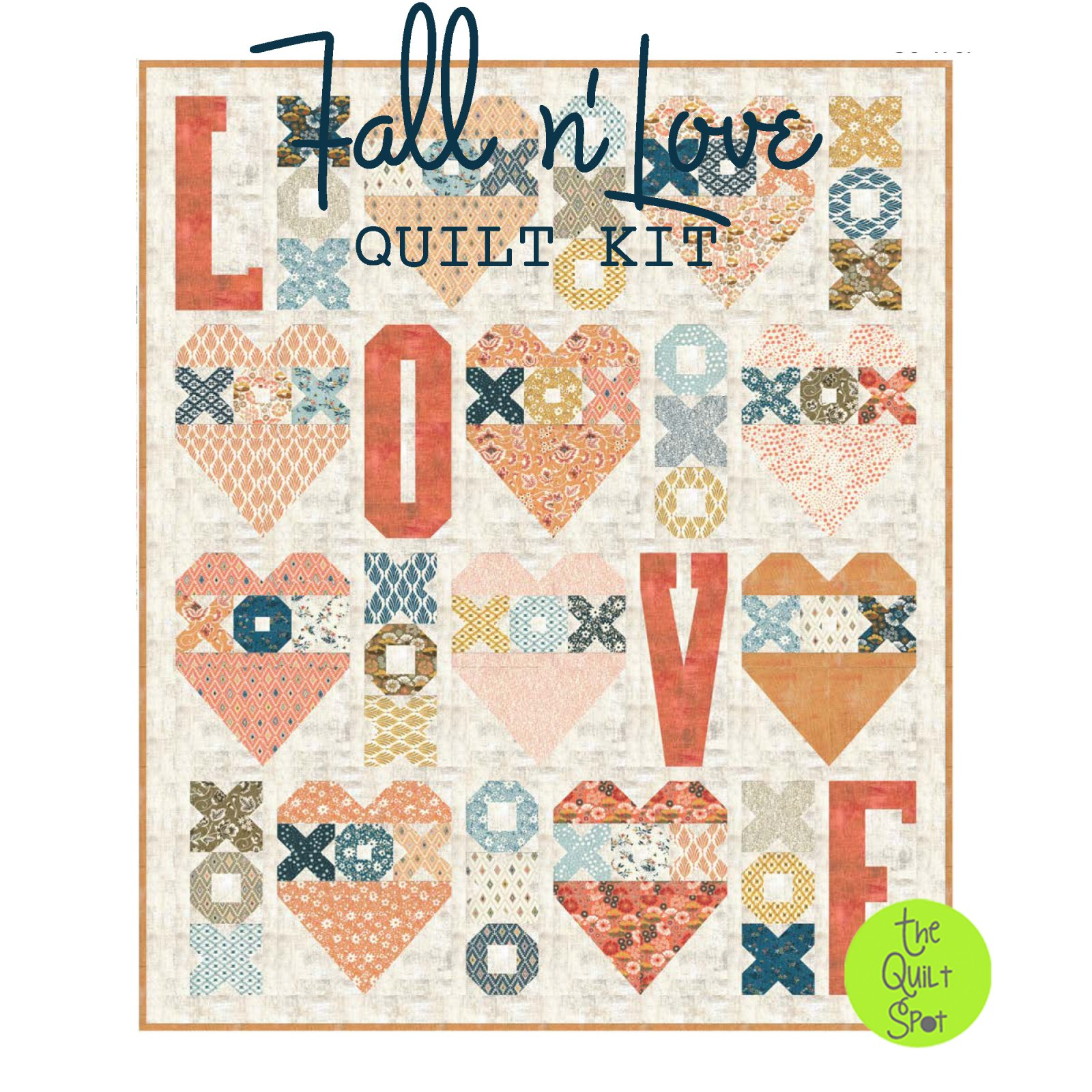 Fall n' Love Quilt Kit featuring Cider by Basic Grey