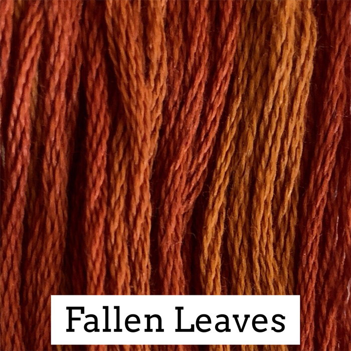 Fallen Leaves Classic Colorworks 6 Strand Hand-Dyed Embroidery Floss