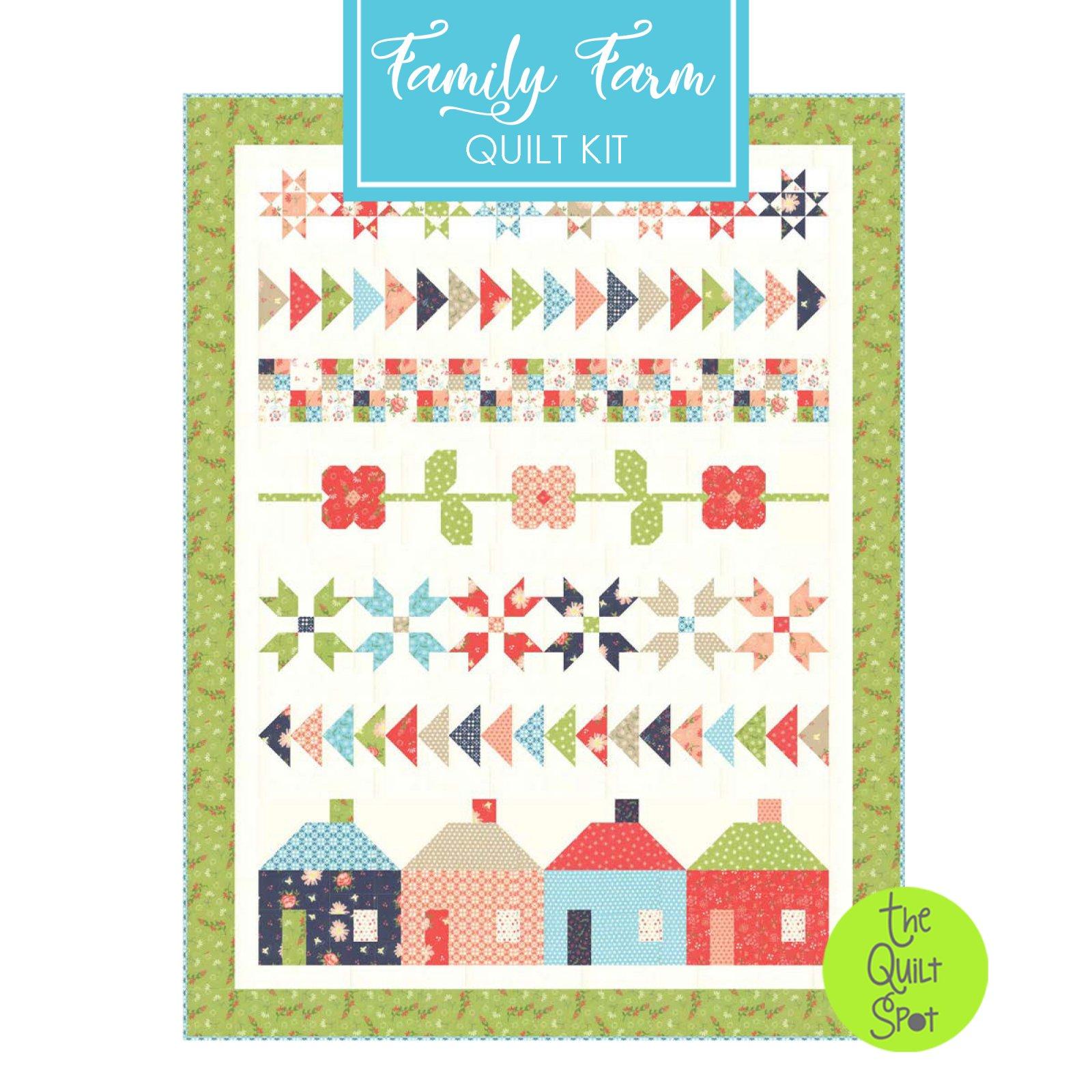 Family Farm Quilt Kit