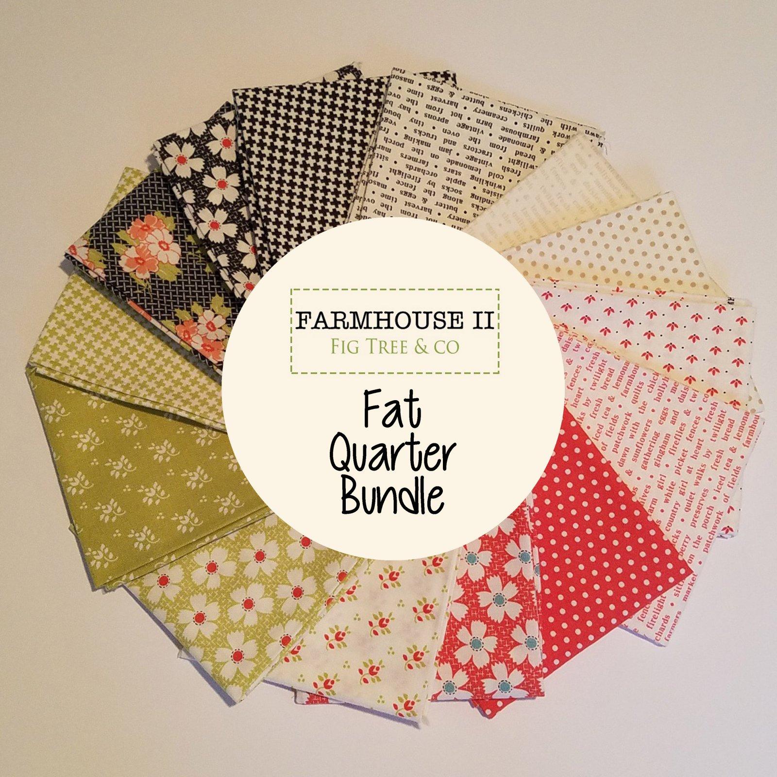 Farmhouse 2 Fat Quarter Bundle