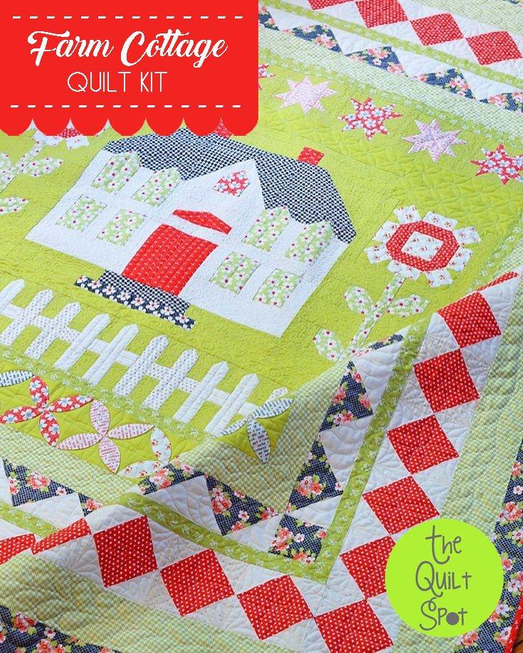 Farm Cottage Quilt Kit