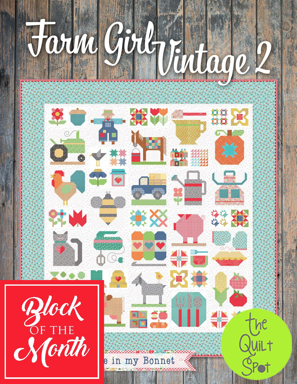Farm Girl Vintage 2 Block of the Month
