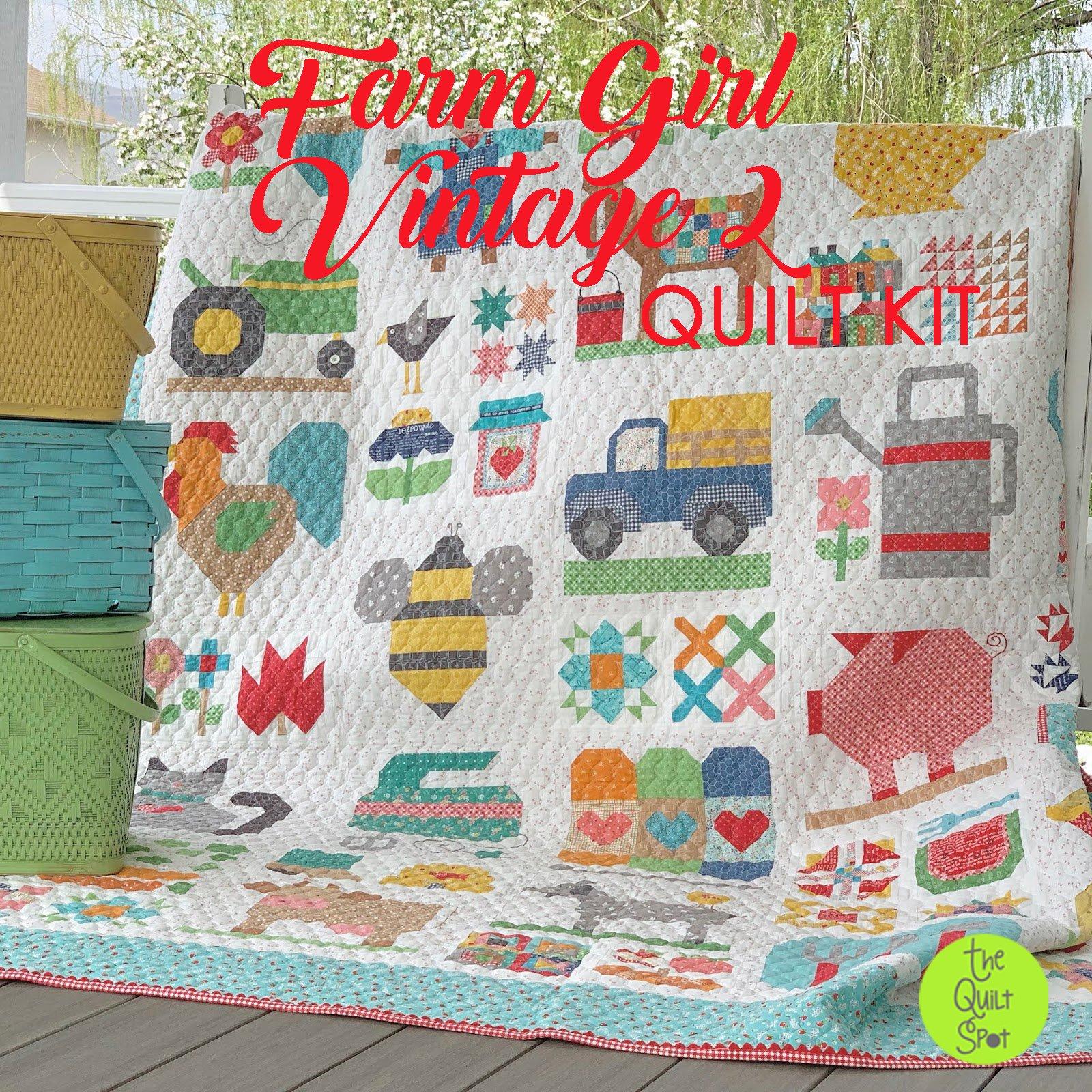 Farm Girl Vintage 2 - Quilt Kit