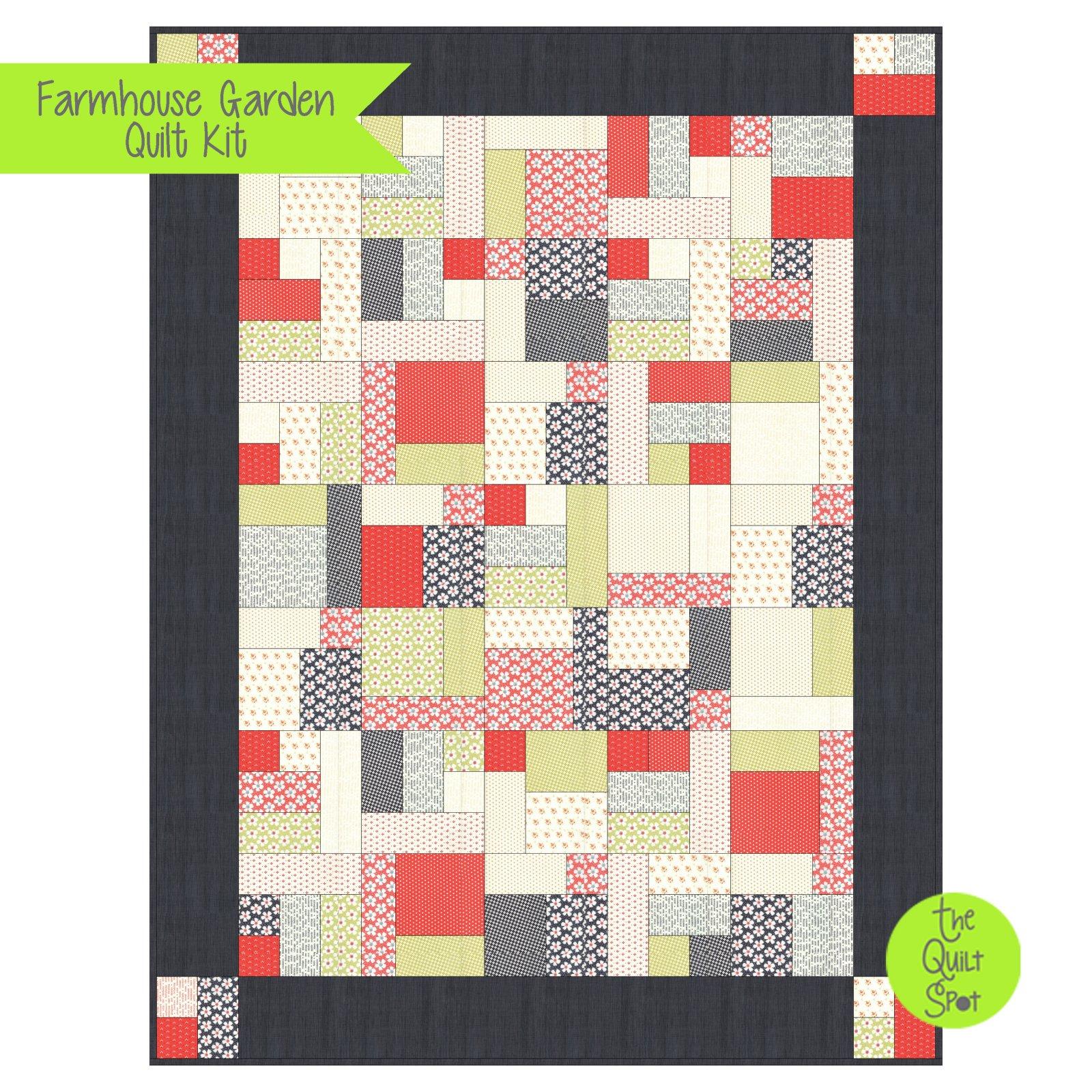 Farmhouse Garden Quilt Kit