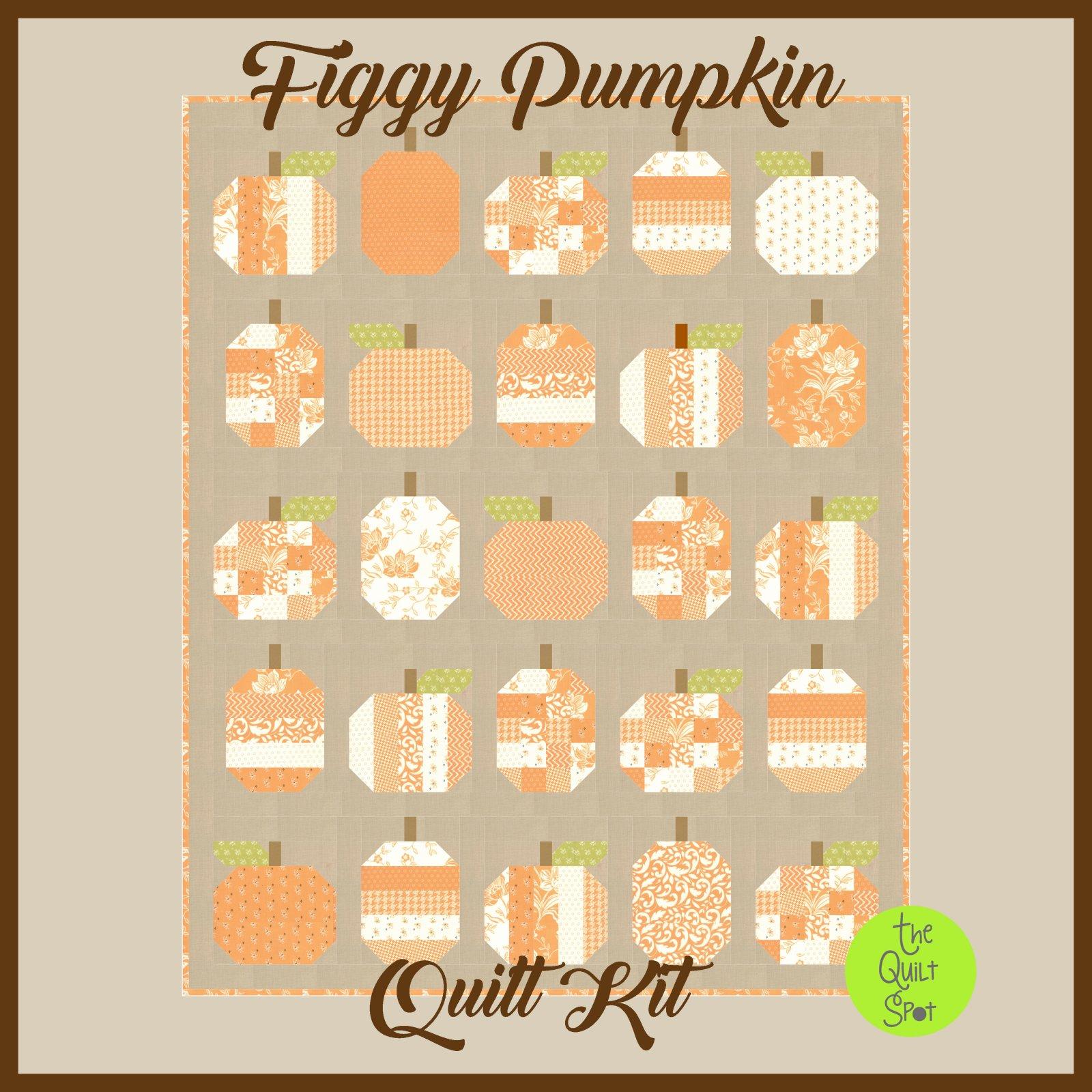 Figgy Pumpkins Quilt Kit