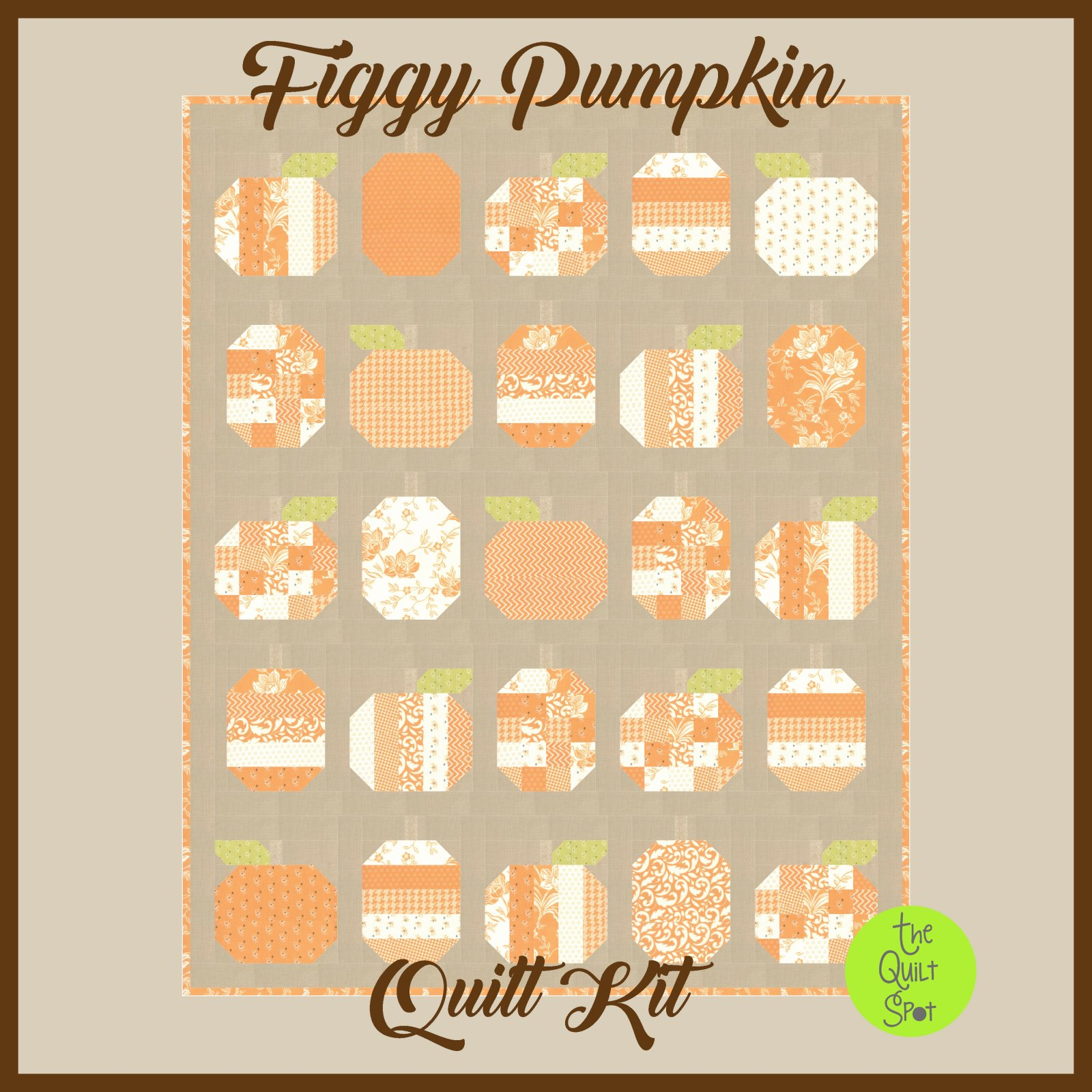 Figgy Pumpkins Quilt Kit
