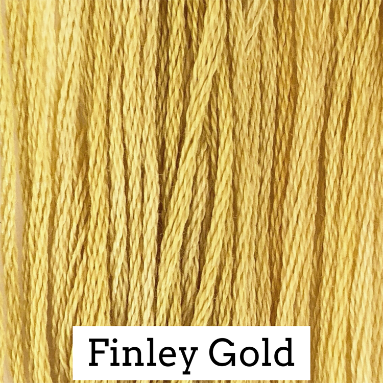 Finley Gold Classic Colorworks 6 Strand Hand-Dyed Embroidery Floss