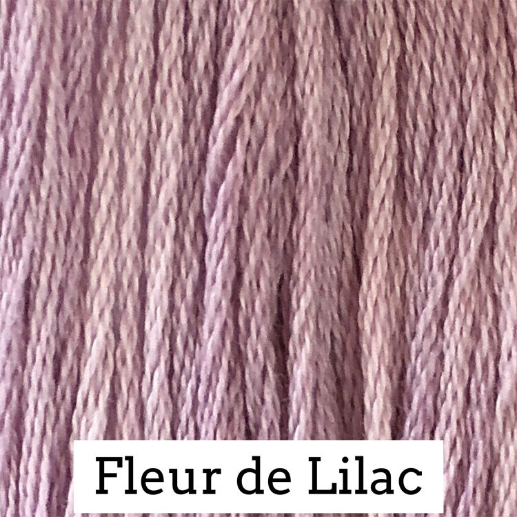 Fleur De Lilac Classic Colorworks 6 Strand Hand-Dyed Embroidery Floss