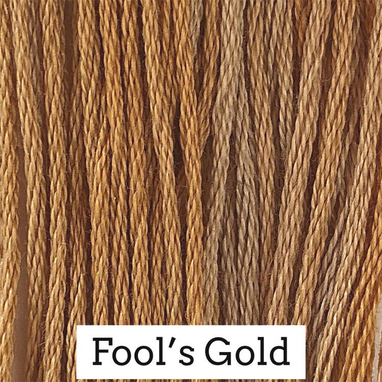 Fool's Gold Classic Colorworks 6 Strand Hand-Dyed Embroidery Floss