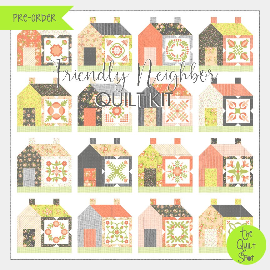 Friendly Neighbor Quilt Kit by Corey Yoder