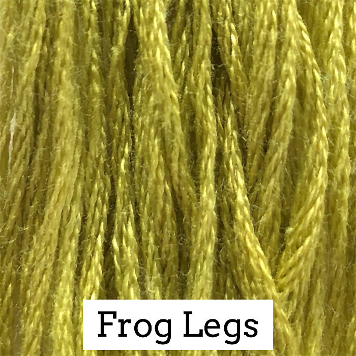 Frog Legs Classic Colorworks 6 Strand Hand-Dyed Embroidery Floss