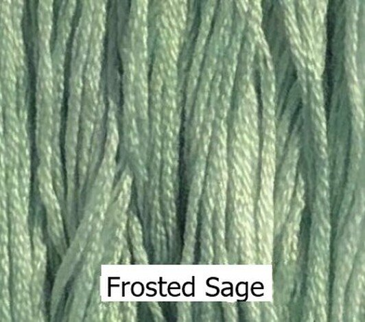 Frosted Sage Classic Colorworks 6 Strand Hand-Dyed Embroidery Floss