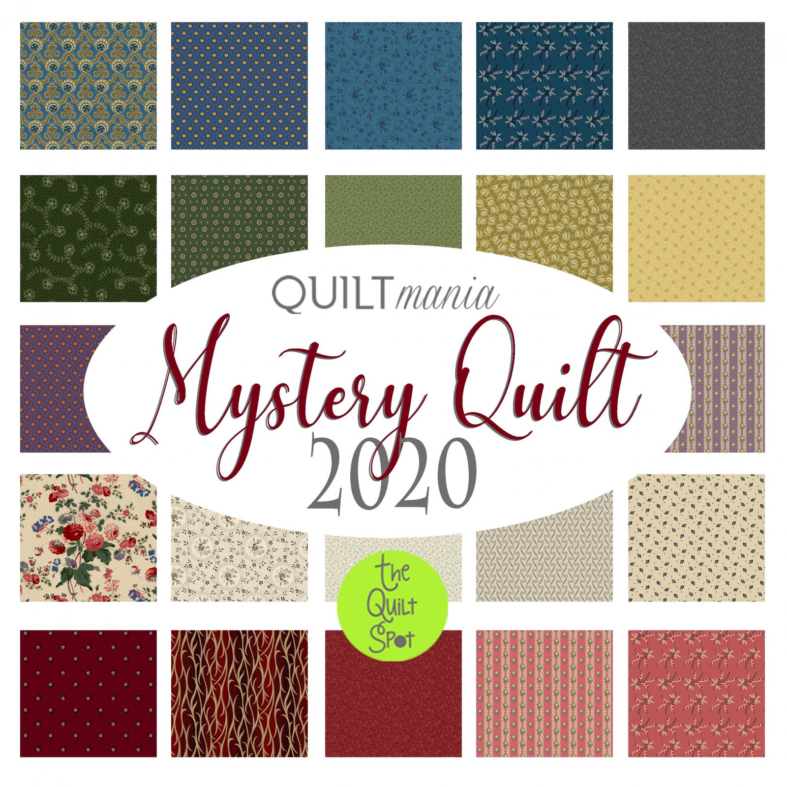 Swivel - Quilt Mania Mystery Block of the Month 2020