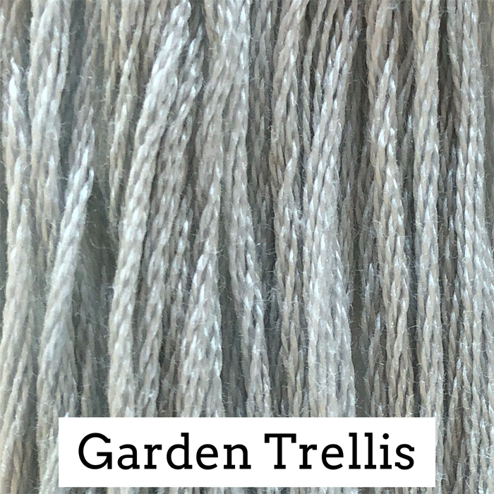 Garden Trellis Classic Colorworks 6 Strand Hand-Dyed Embroidery Floss