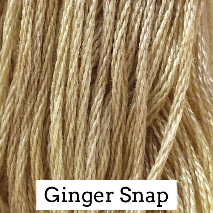 Ginger Snap Classic Colorworks 6 Strand Hand-Dyed Embroidery Floss