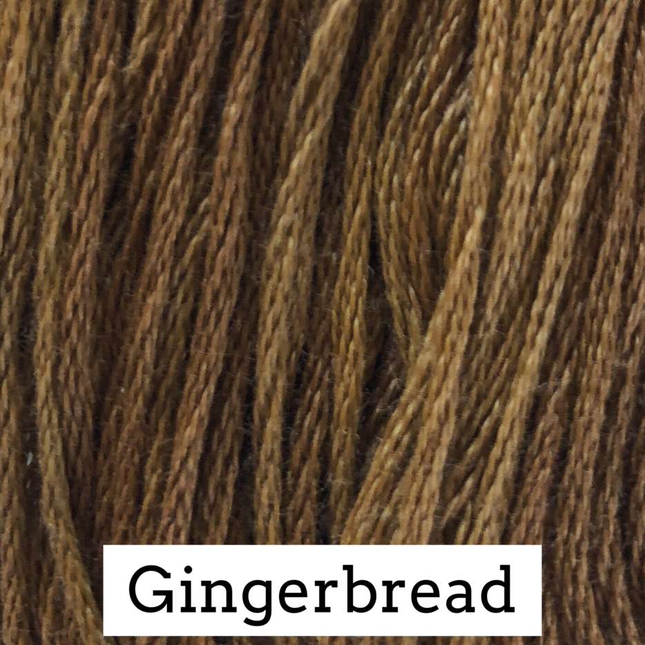 Gingerbread Classic Colorworks 6 Strand Hand-Dyed Embroidery Floss