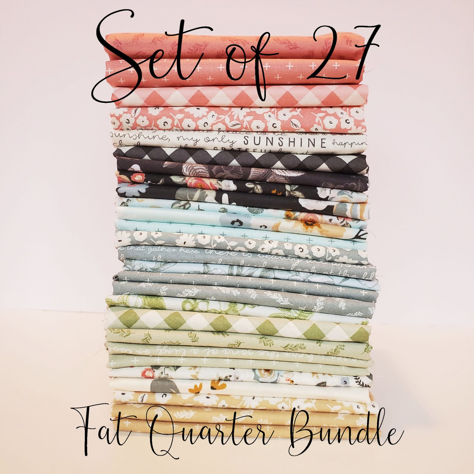 Gingham Gardens Fat Quarter Bundle by My Mind's Eye