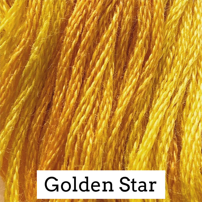 Golden Star Classic Colorworks 6 Strand Hand-Dyed Embroidery Floss
