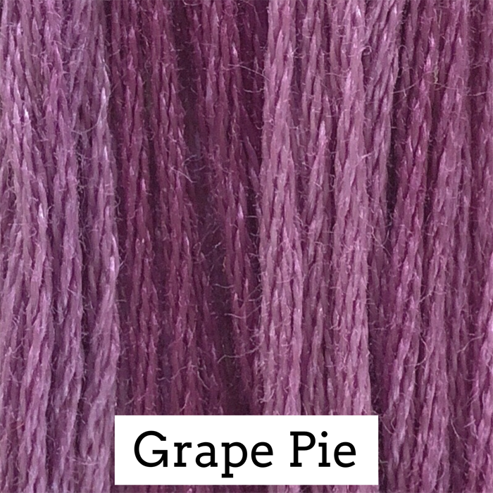 Grape Pie Classic Colorworks 6 Strand Hand-Dyed Embroidery Floss