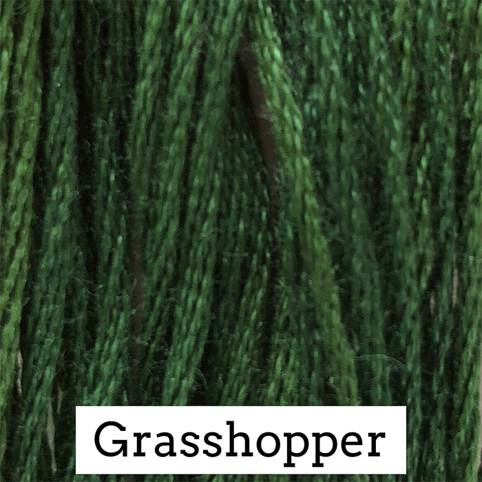 Grasshopper Classic Colorworks 6 Strand Hand-Dyed Embroidery Floss