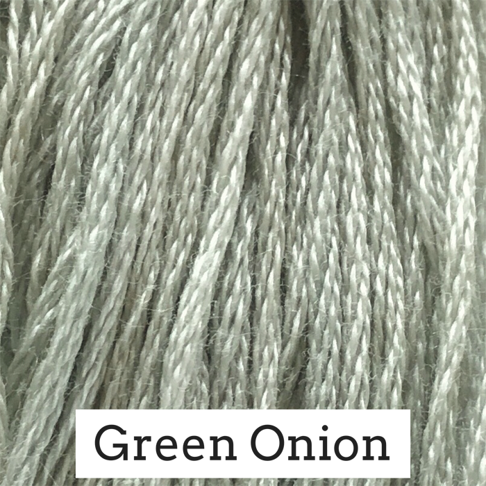 Green Onion Classic Colorworks 6 Strand Hand-Dyed Embroidery Floss
