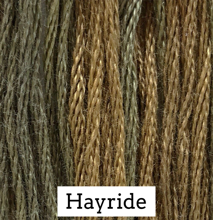 Hayride Classic Colorworks 6 Strand Hand-Dyed Embroidery Floss