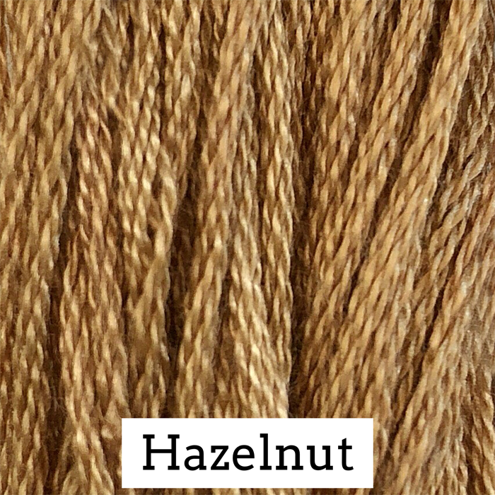 Hazelnut Classic Colorworks 6 Strand Hand-Dyed Embroidery Floss