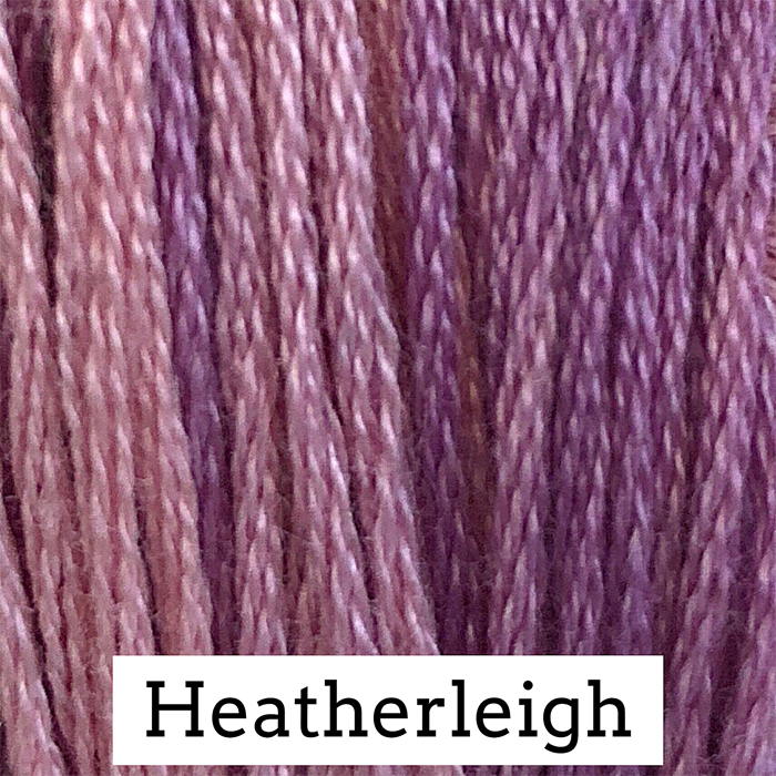 Heatherleigh Classic Colorworks 6 Strand Hand-Dyed Embroidery Floss