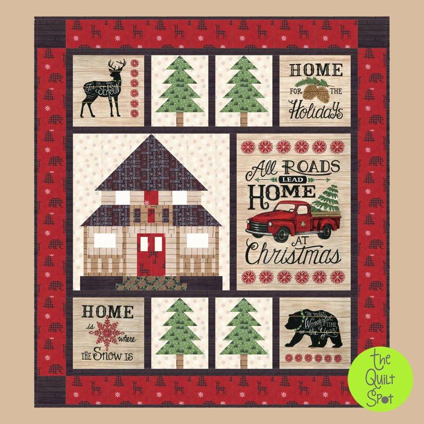 Home for Christmas Holiday Lodge Kit