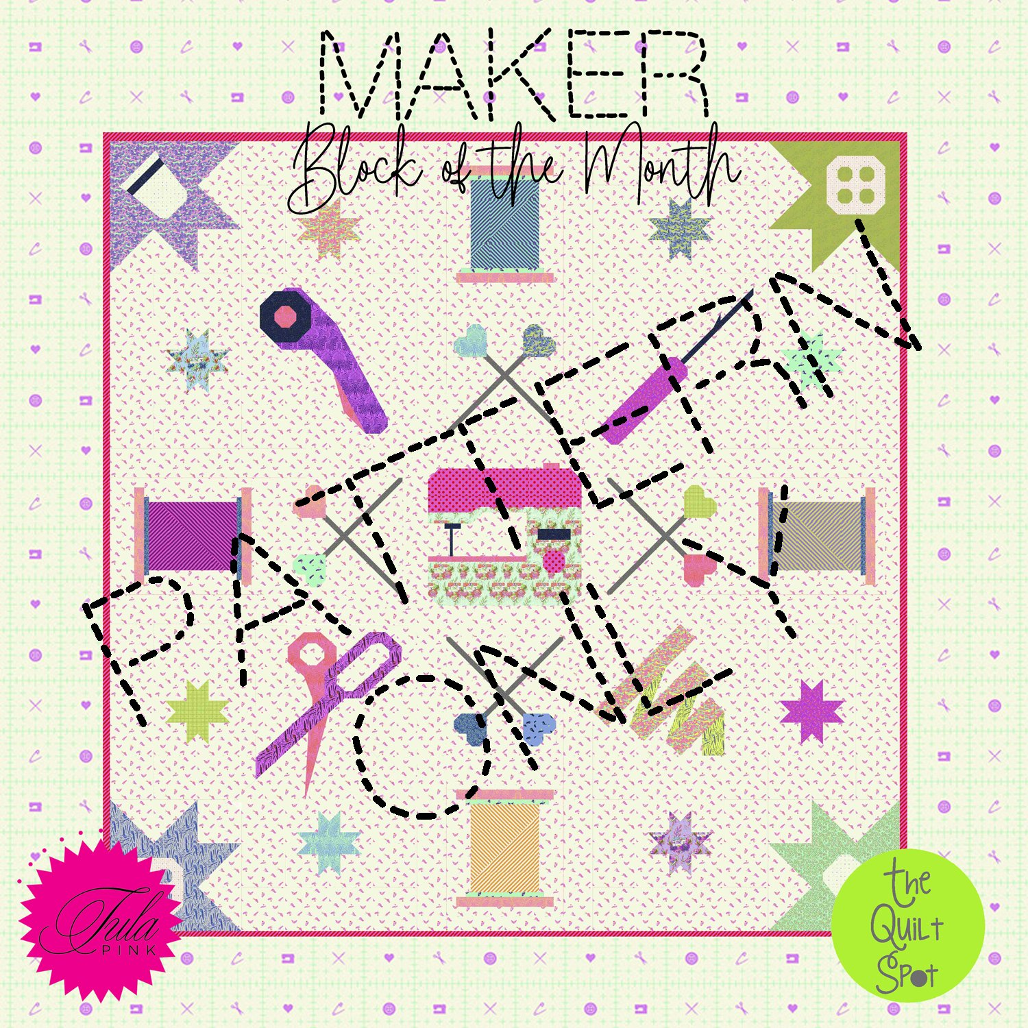 Maker Block of the Month - Pattern Only