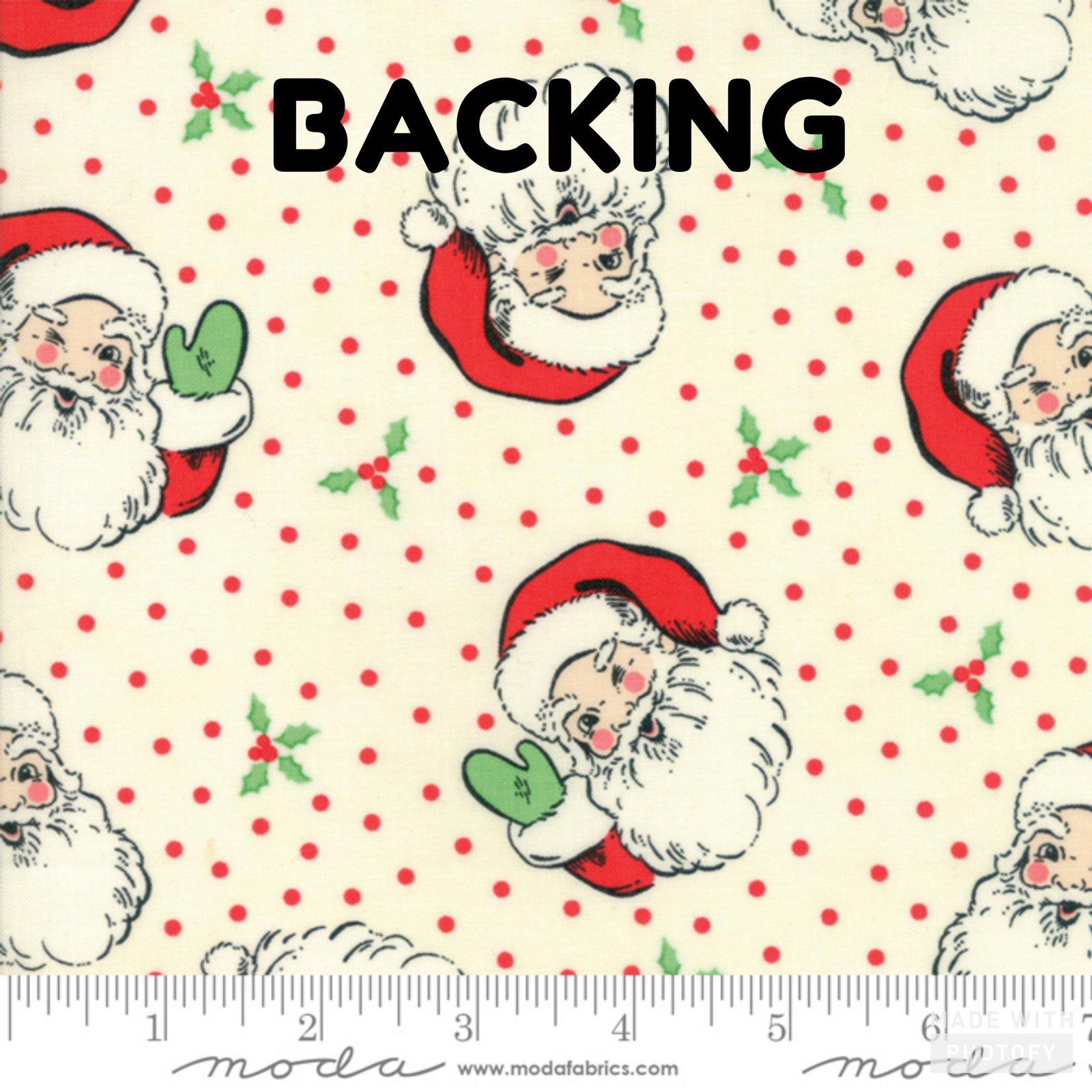 Swell Christmas Santa Kit Backing White