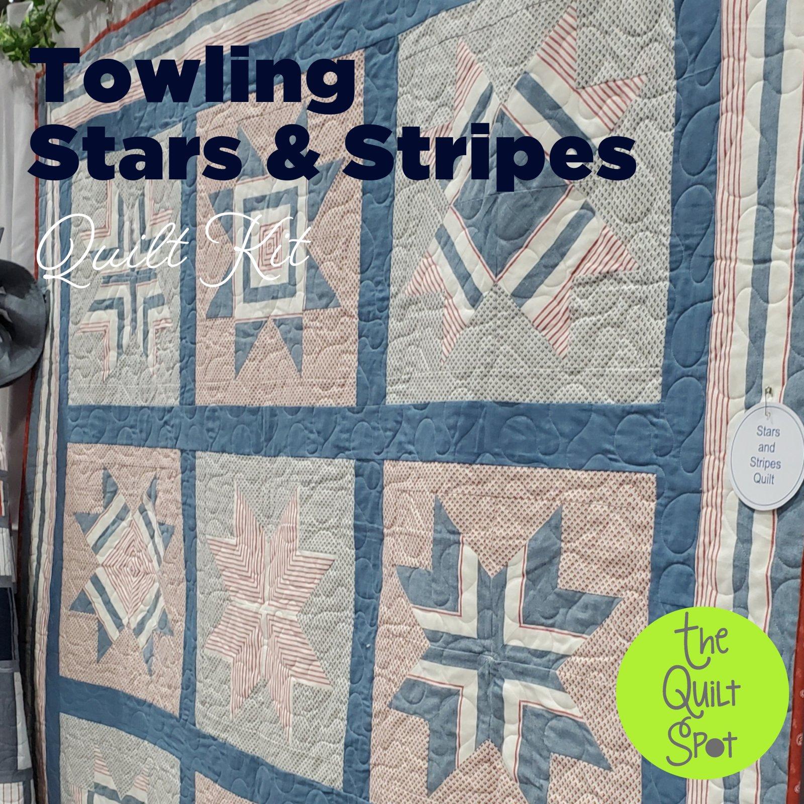 Towling Stars & Stripes Quilt Kit