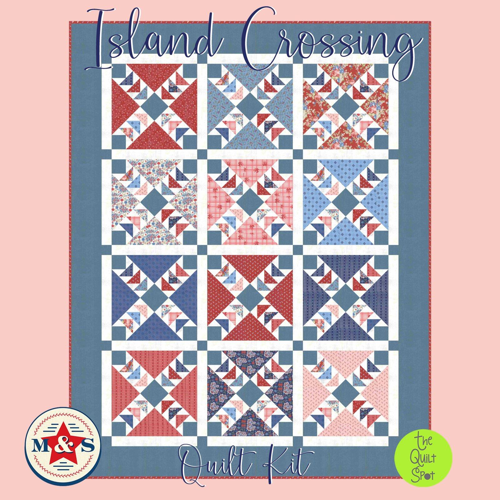 Island Crossing Quilt Kit featuring Mackinac Island Fabrics by Minick & Simpson