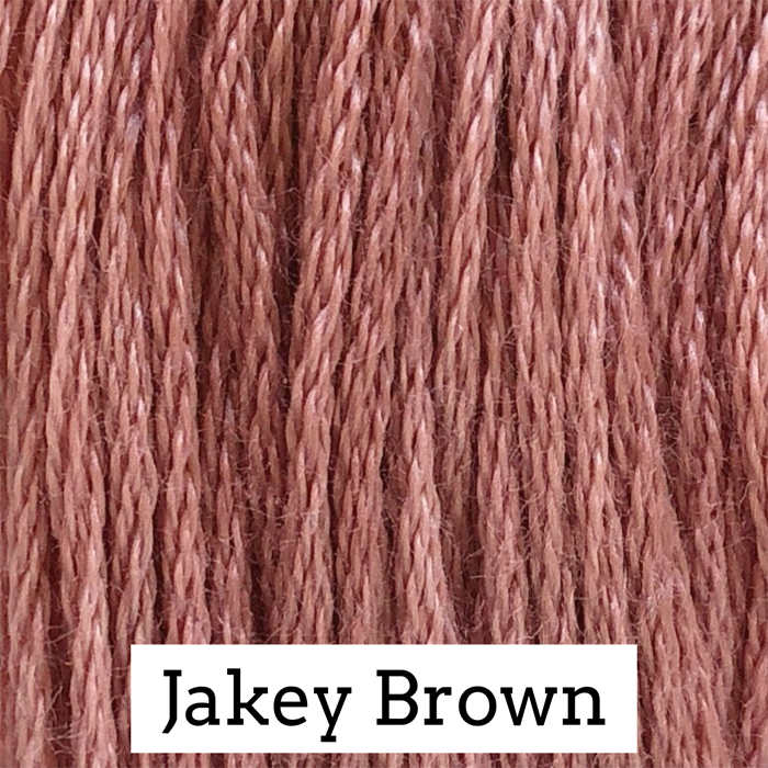 Jakey Brown Classic Colorworks 6 Strand Hand-Dyed Embroidery Floss