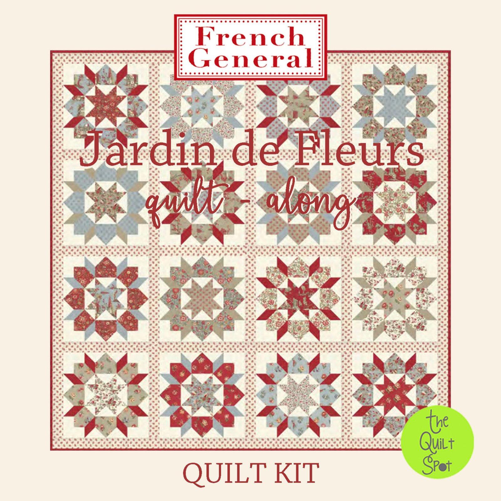 Jardin de Fleurs Swoon Quilt Along Quilt Kit