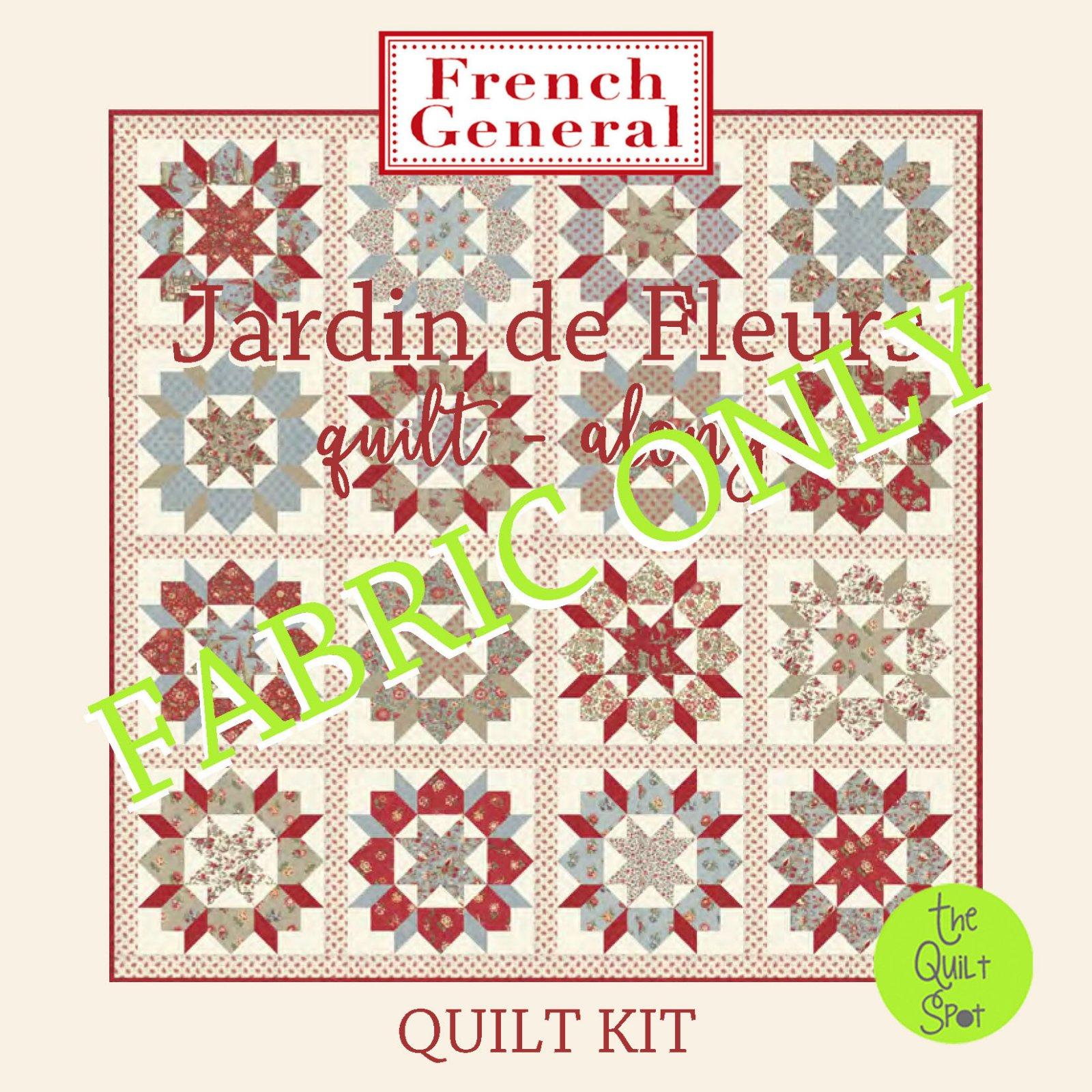 Jardin de Fleurs Swoon Quilt Along Quilt Kit FABRIC ONLY KIT