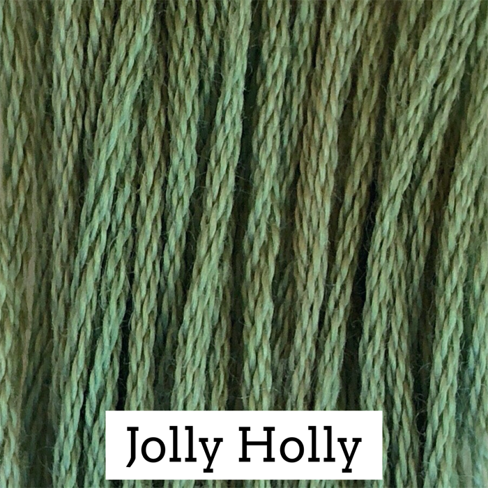 Jolly Holly Classic Colorworks 6 Strand Hand-Dyed Embroidery Floss