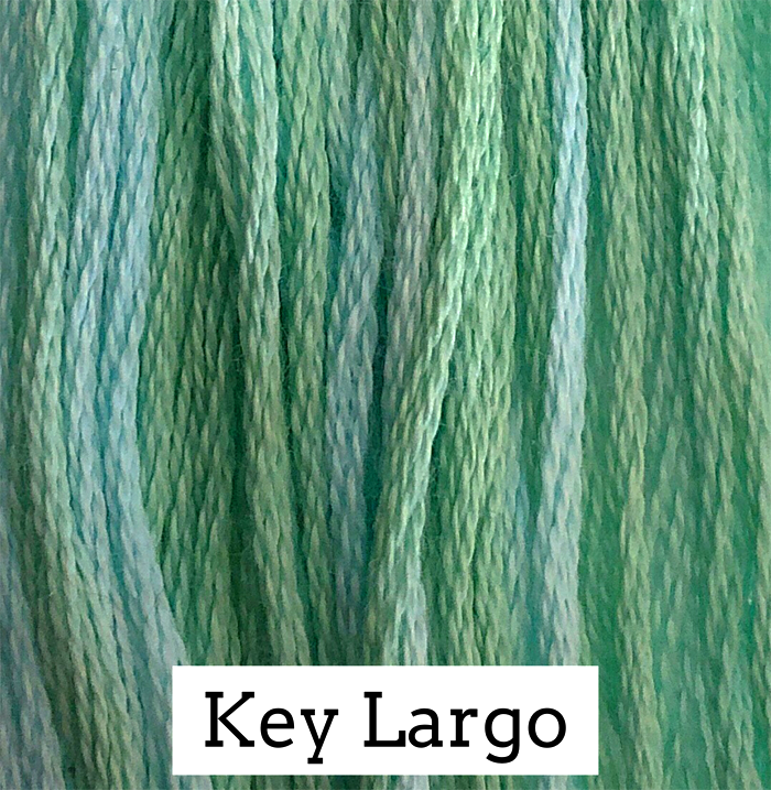 Key Largo Classic Colorworks 6 Strand Hand-Dyed Embroidery Floss