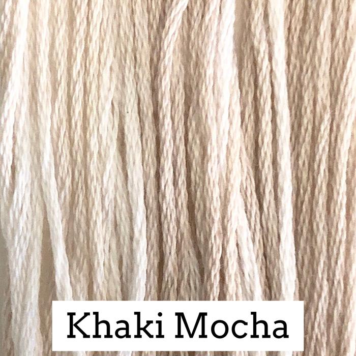 Khaki Mocha Classic Colorworks 6 Strand Hand-Dyed Embroidery Floss