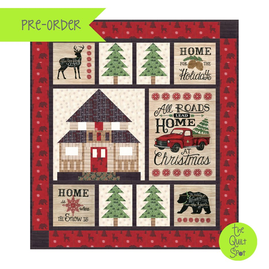 Home for Christmas Holiday Lodge Kit