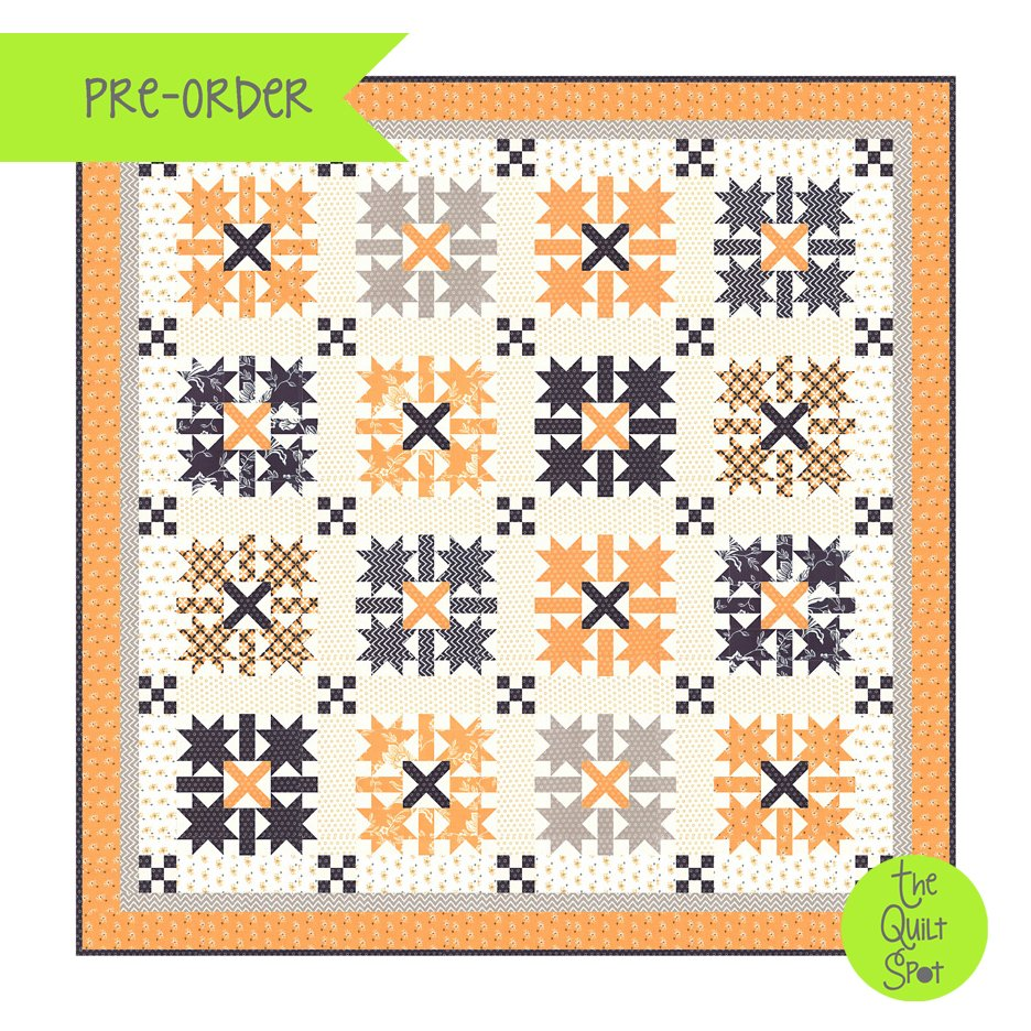 Midnight Crossing Quilt Kit