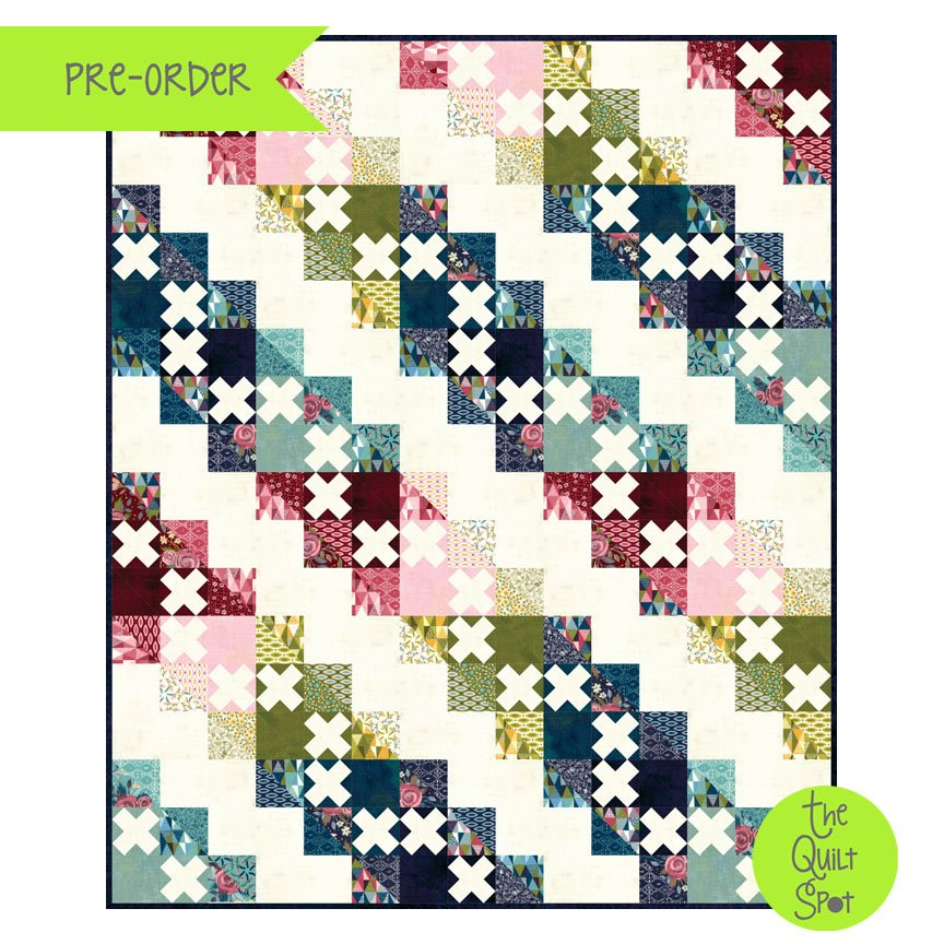 Nova Stolen Kisses Quilt Top Kit