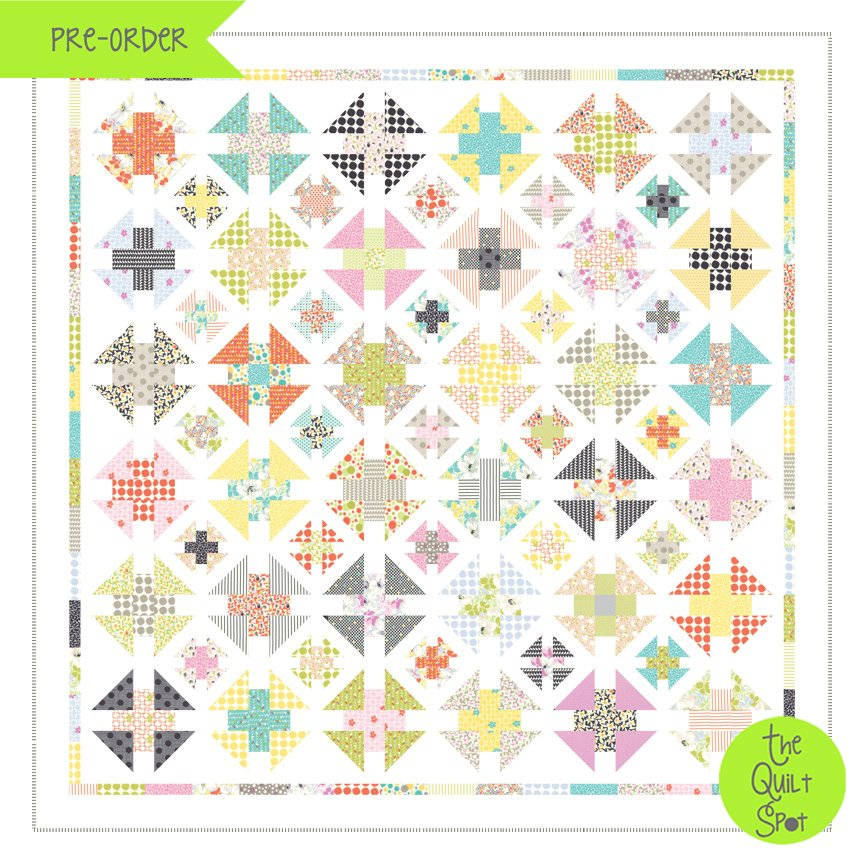 Sunny Days Quilt Kit by Jen Kingwell