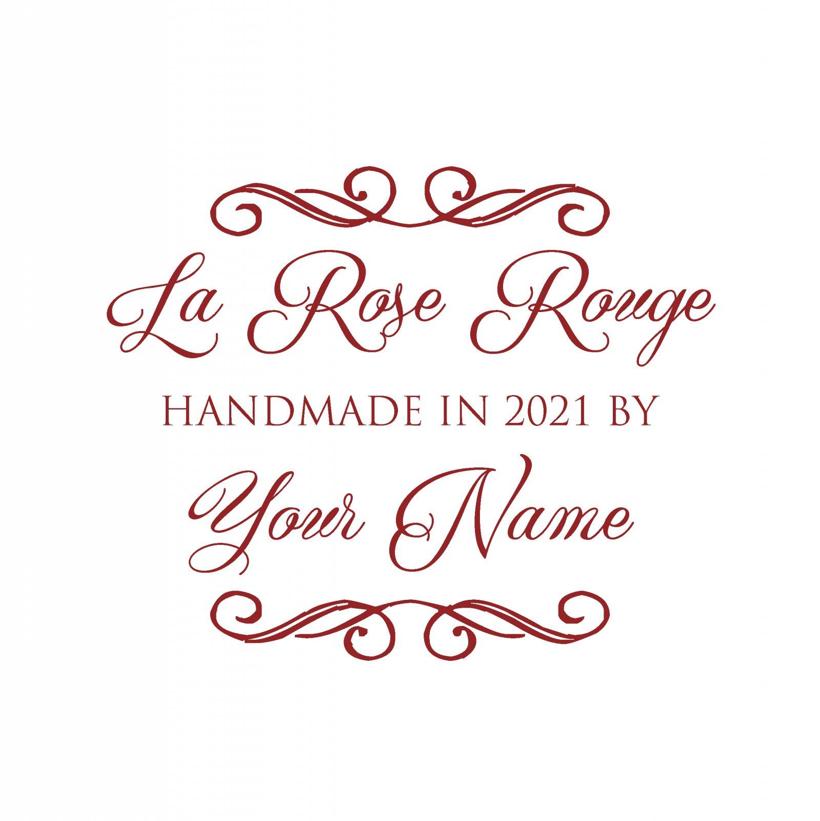 La Rose Custom Label